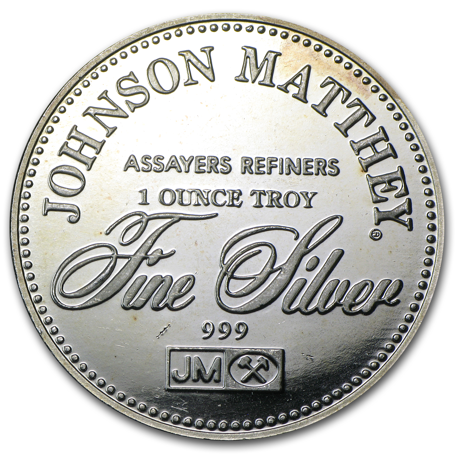 1 oz Silver Rounds - Johnson Matthey (Freedom from Slavery)